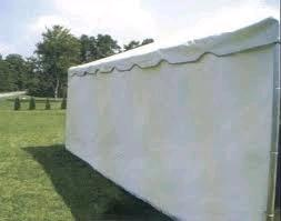 Where to find TENT SIDEWALL, 7  X 30  WHITE in Beaver Falls